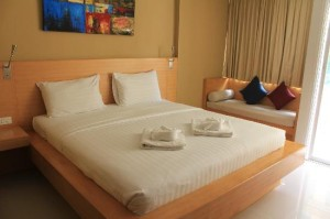 Aspery Hotel bed