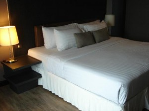 Aya Boutique Hotel bed