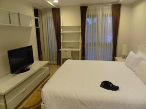 Baan K Managed by Bliston Hotel bedroom with tv