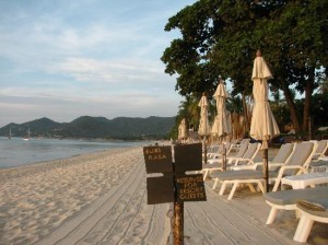 Buri Rasa Village Samui location is beachfront