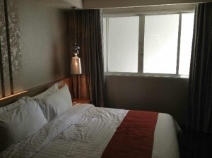Citrus Sukhumvit 13 Bangkok bed view