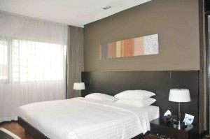 Fraser Suites Sukhumvit Serviced Apartment bedroom
