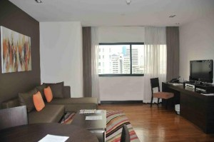 Fraser Suites Sukhumvit Serviced Apartment living room