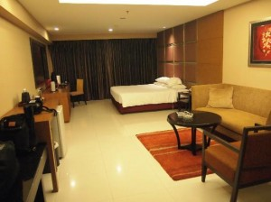 Futura Silom Bangkok whole room view