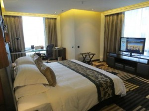 Landmark Bangkok suite room