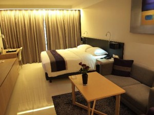 Oakwood Apartments Trilliant Sukhumvit 18 the standard room