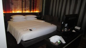 Park Plaza Bangkok Soi 18 bed view