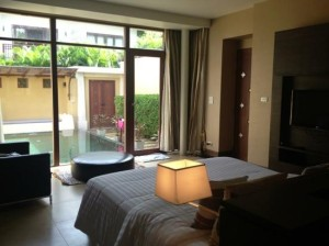 Pawanthorn Samui bedroom with private pool