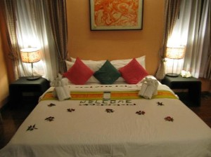 Rummana Boutique Resort bed