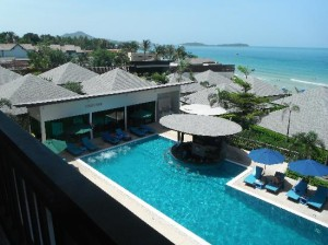 Samui Resotel Beach Resort pool view