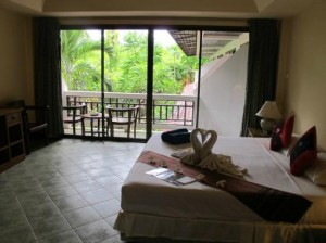 Seascape Beach Resort bedroom