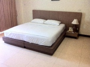The Pinewood Residences bed corner