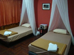he Urban Age Hostel bedroom for twin