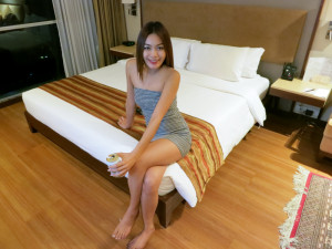 Adelphi Suites ladyboy in room